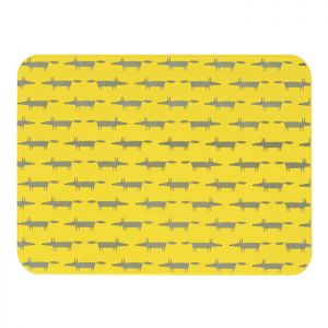 Dexam Scion Living Mr Fox Worktop Saver - Yellow