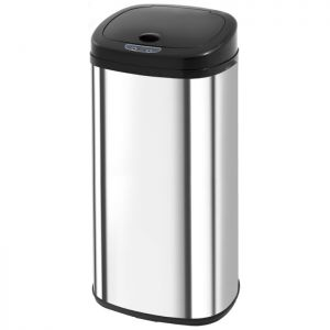 Morphy Richards Chroma Square Sensor Bin – Stainless Steel, 50L