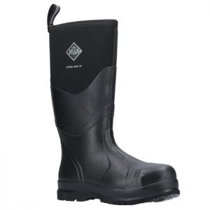 Muck Boots Unisex Chore Max S5 Safety Wellington Boots - Black