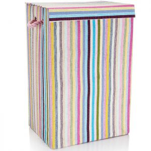 Minky Laundry Basket - 72 Litre, Multi-Coloured