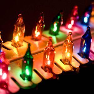 Alderbrook 100 Indoor Shadeless Lights - Multi-Coloured