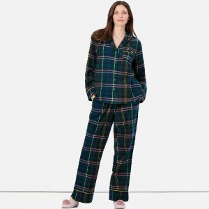 Joules Women's Sleeptight Pyjama Set – Multi Tartan