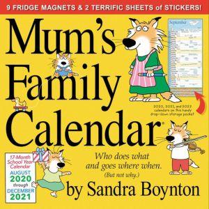 Mum's Family Planner 2020-2021