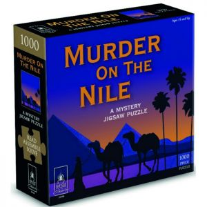Murder on the Nile Mystery Puzzle - 1000 Piece