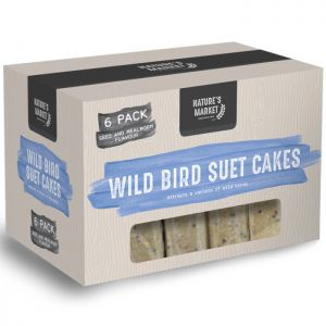 Nature's Market Wild Bird Suet Cakes - 6 Pack