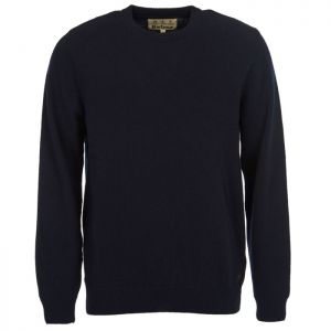 Barbour Nelson Essential Crew Neck Jumper - Navy
