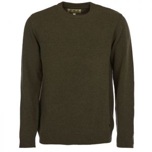 Barbour Nelson Essential Crew Neck Jumper - Seaweed