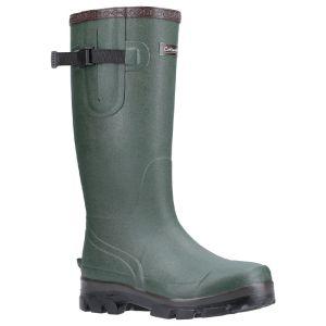 Cotswold Grange Buckle Fastening Wellington Boot - Green