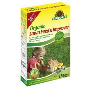 Neudorff Organic Lawn Feed & Improver – 50m²