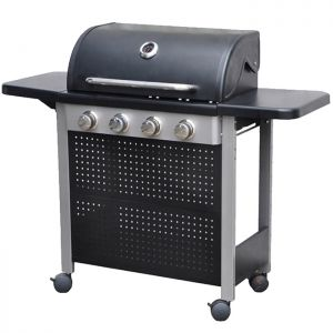 Nevada 4 Burner Gas Barbecue with Propane Regulator