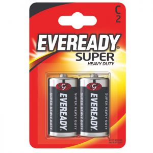 Eveready Super 2C - 2 Pack