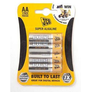 JCB Super AA Battery - 4 Pack
