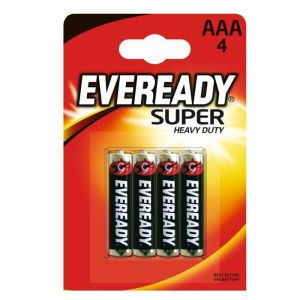 Eveready Super AAA - 4 Pack