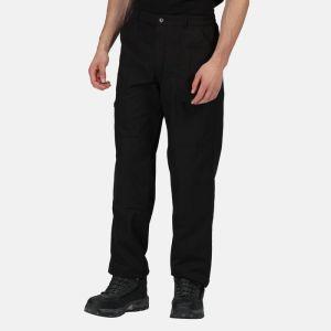Regatta Men's Tactical Lined Action Trousers - Short, Black