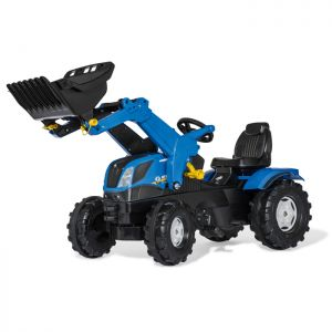 New Holland Farmtrac Rolly Ride-On Tractor with Loader