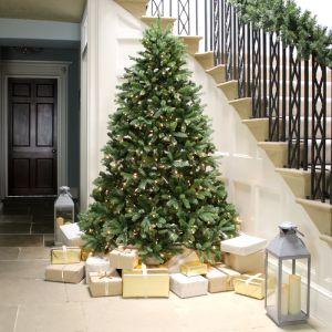 National Tree Pre-Lit Newberry Spruce Christmas Tree - 7ft