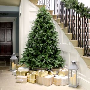 National Tree 7ft Newberry Spruce Feel Real Christmas Tree