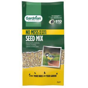 Gardman No Mess Seed Mix - 2kg
