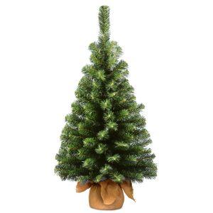 National Tree Noble Spruce Mini Christmas Tree - 3ft