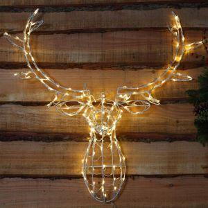 NOMA LED Light Stag Head - Warm White