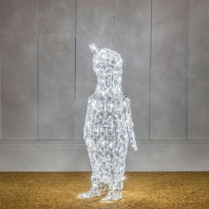 NOMA Jewelled Penguin LED Light Figure - 60cm