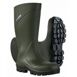 Nora Max Men's Safety Wellington Boots - Green