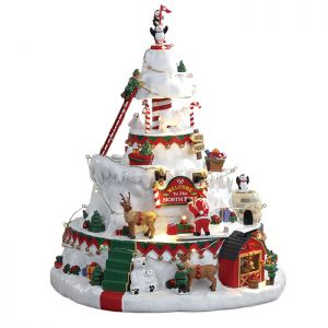 Lemax Christmas Figurine - North Pole Tower