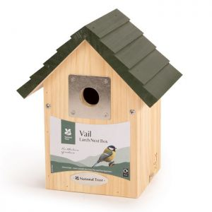 National Trust Vail Larch Nest Box - 32mm Hole