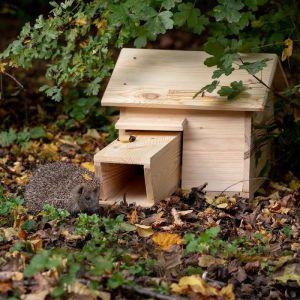 National Trust Wooden Hedgehog House