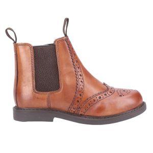 Cotswold Kids Nympsfield Dealer Boot – Tan
