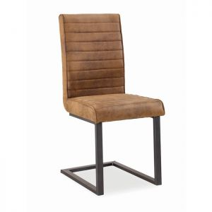 Corndell Oak Mill Dining Chair - Tan