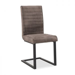 Corndell Oak Mill Dining Chair - Grey