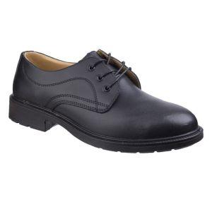 Amblers Men's Smart Safety Shoes - Black