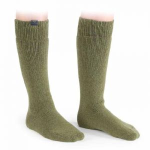 Shires Aubrion Colliers Boot Socks – Olive