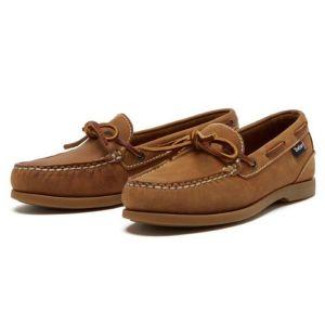 Chatham Ladies Olivia G2 Deck Shoe – Walnut