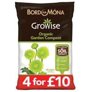 Bord Na Mona Organic Garden Compost – 50 litres