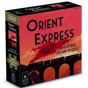 The Orient Express Murder Mystery Puzzle - 1000 Piece