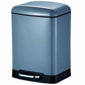 Blue Canyon Oslo Soft Close Bin - 6 Litre, Slate
