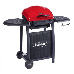 Outback Omega 201 Charcoal Barbecue – Red