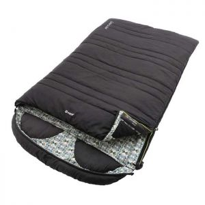 Outwell Camper Lux Double Sleeping Bag - Black
