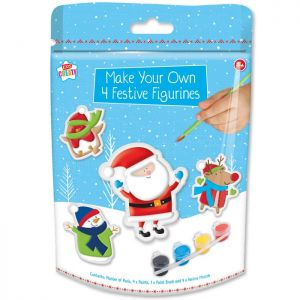 Paint Your Own Christmas Figures - 4 Figures