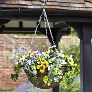 Smart Garden Easy Basket - Pansies, 30cm