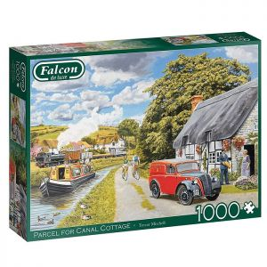 Parcel For Canal Cottage Jigsaw Puzzle by Falcon – 1000 Pieces