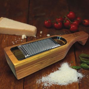 KitchenCraft Italian Collection Bamboo Parmesan Grater