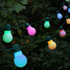 Smart Solar Party String Lights