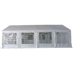 Harford PE Rectangular Party Tent, 4m x 8m - 240gsm