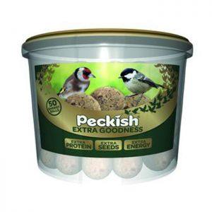 Peckish Extra Goodness Fat Balls Tub - 50 Pack