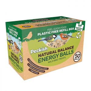 Peckish Natural Balance 50 Energy Balls – Pack of 50