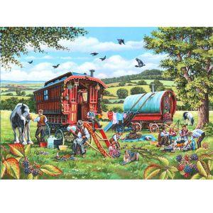 House Of Puzzles The Oakridge Collection MC534 Pedlar Man Jigsaw Puzzle - 1000 Piece