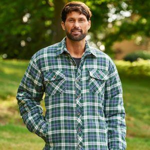 Champion Men's Pennine Padded Shirt – Green